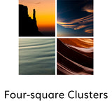 Four-square Clusters, © Globop Photography LLC