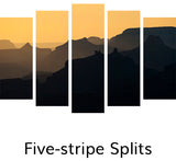 Five-stripe Splits, © Globop Photography LLC