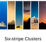Six-stripe Clusters, © Globop Photography LLC