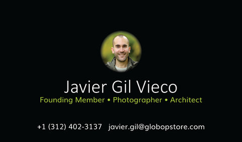 Javier Gil Vieco, Professional Photographer - Globop Photographer LLC