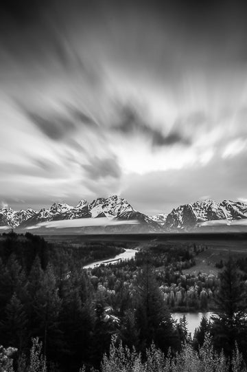 Clouds over the Tetons, © Globop Photography