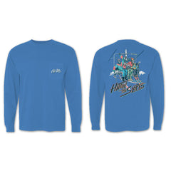 Hitting the Slopes V4 Long Sleeve Pocket Tee