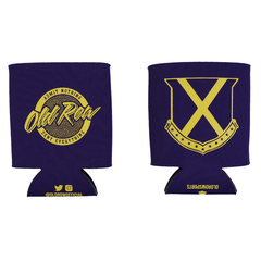 Old Row Tailgate Koozie (Purple w/ Yellow)
