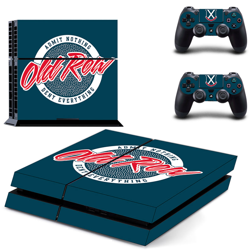 PS4 Gaming Skin - Old Row Circle Logo
