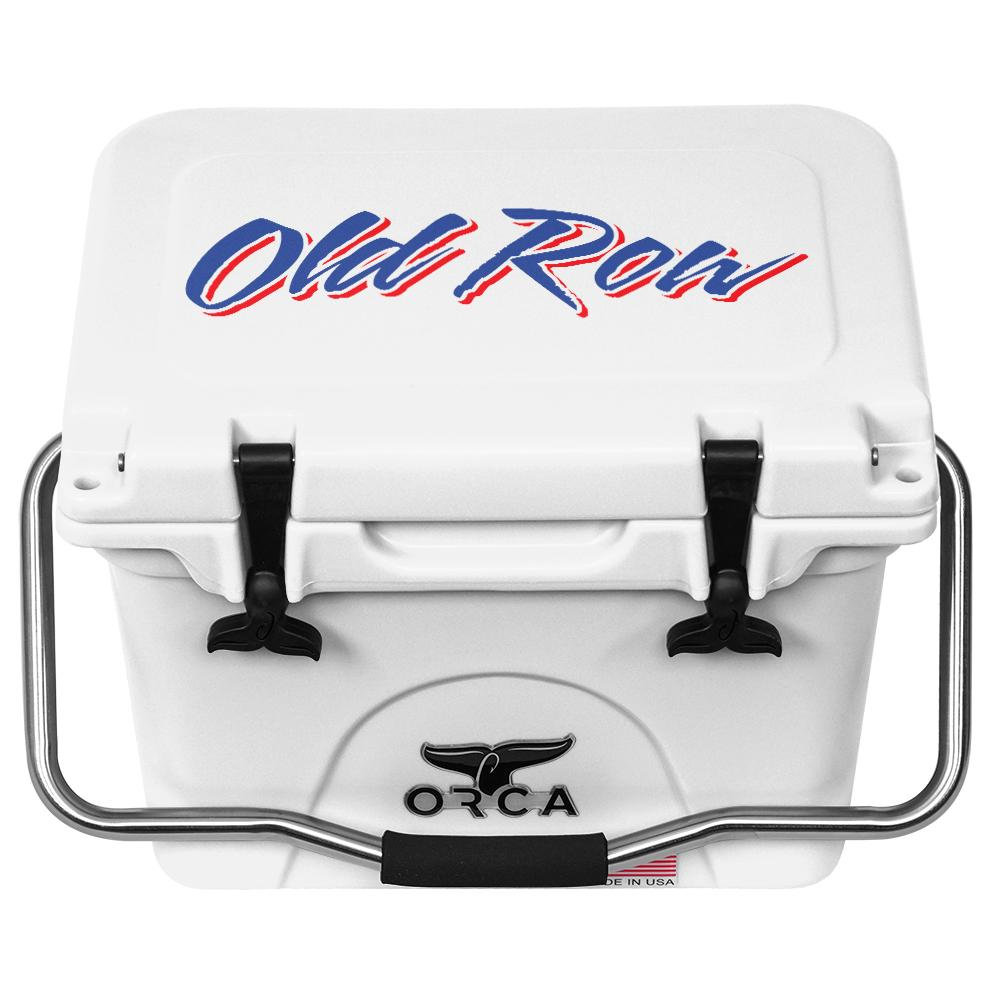 ORCA x Old Row 20qt Cooler - White