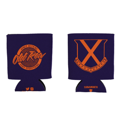 Old Row Tailgate Koozie Purple
