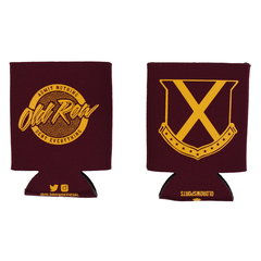Old Row Tailgate Koozie (Garnet w/ Gold)