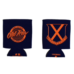 Old Row Tailgate Koozie (Navy w/Orange)