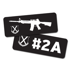 2A Cooler Logo Sticker 2-Pack