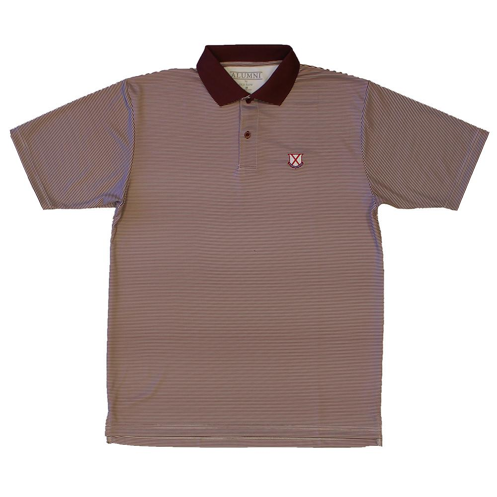 Alumni Micro Stripe Polo Shirt