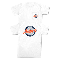 Auburn, Alabama Circle Logo Pocket Tee
