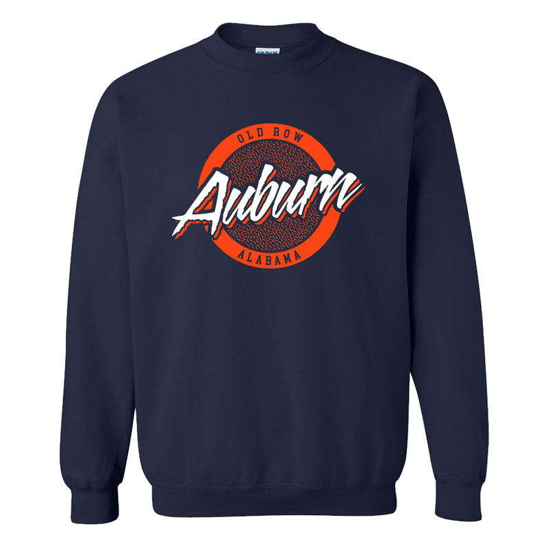 Auburn, Alabama Circle Logo Crewneck Sweatshirt