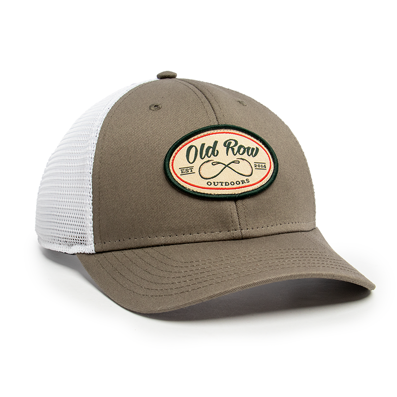 Old Row Outdoors Fishing Meshback Hat