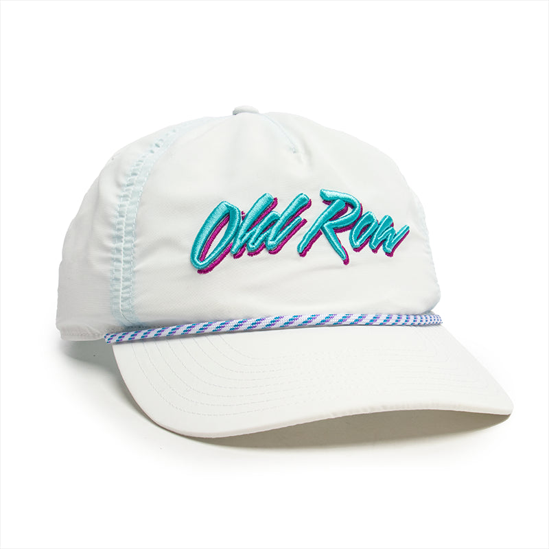 Old Row 90s Text Logo Rope Hat