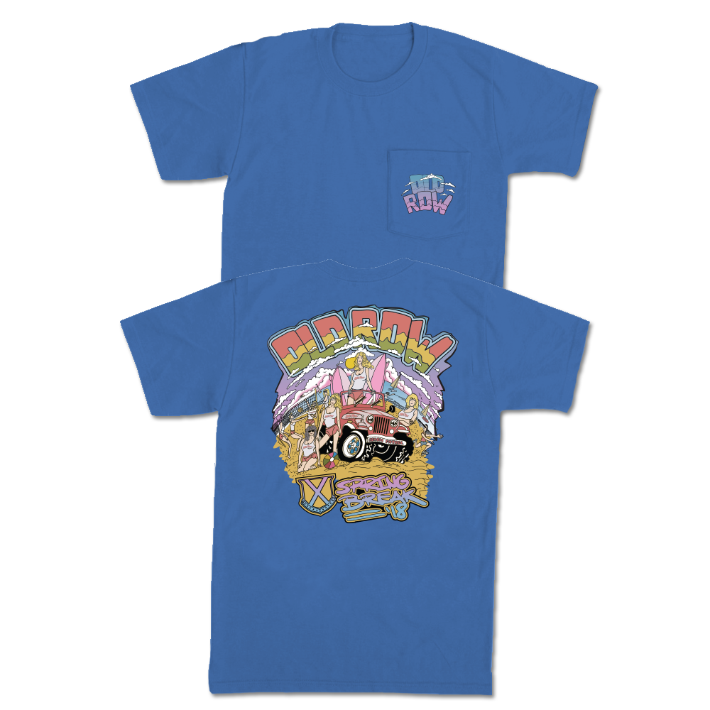 Old Row Beach Patrol Pocket Tee