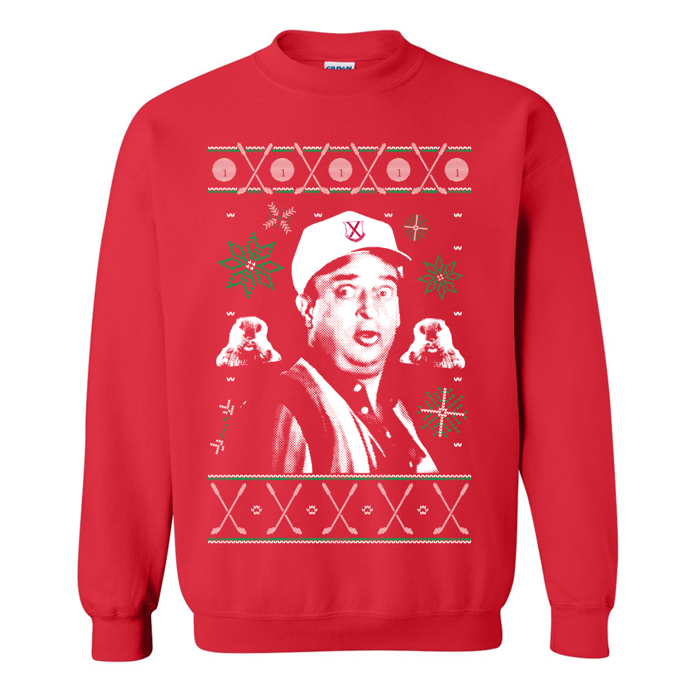 Caddyshack Tacky Christmas Sweater
