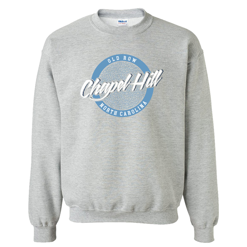 Chapel Hill, North Carolina Circle Logo Crewneck Sweatshirt