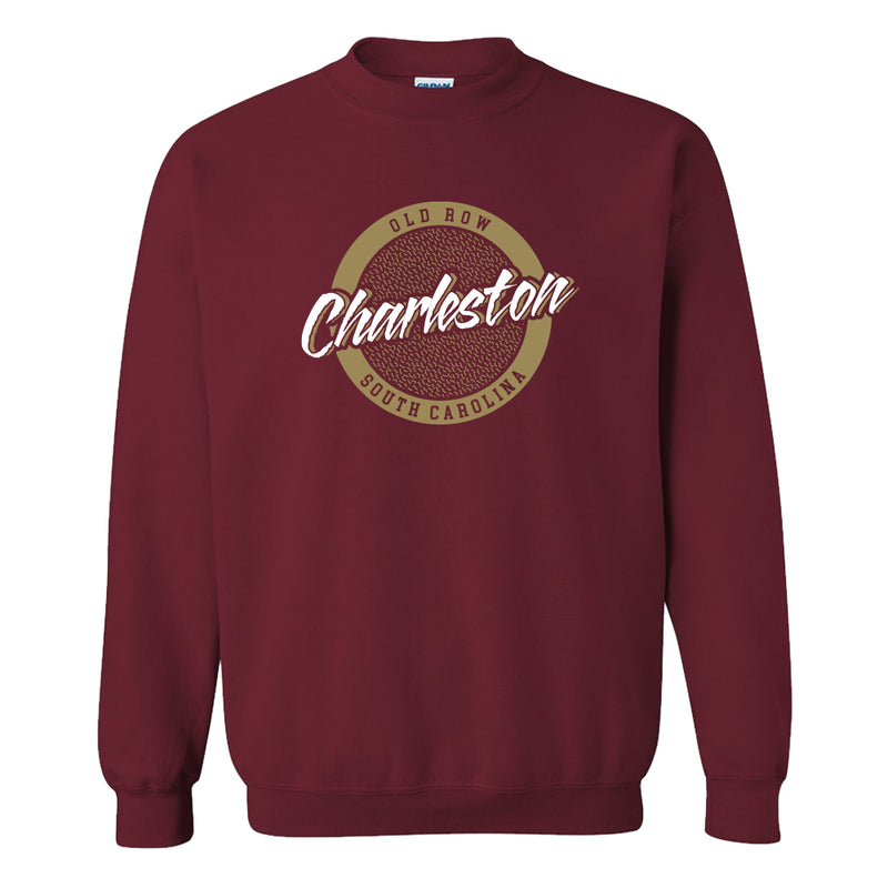 Charleston, South Carolina Circle Logo Crewneck Sweatshirt