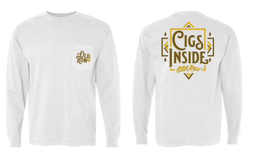 Cigs Inside Longsleeve Pocket Tee