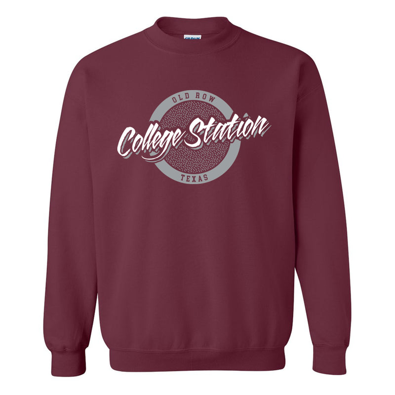 College Station, Texas Circle Logo Crewneck Sweatshirt
