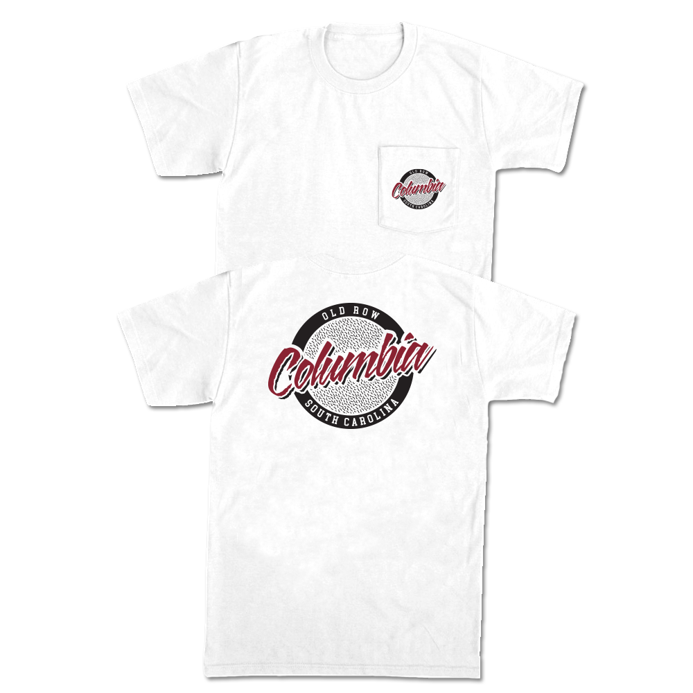 Columbia, South Carolina Circle Logo Pocket Tee