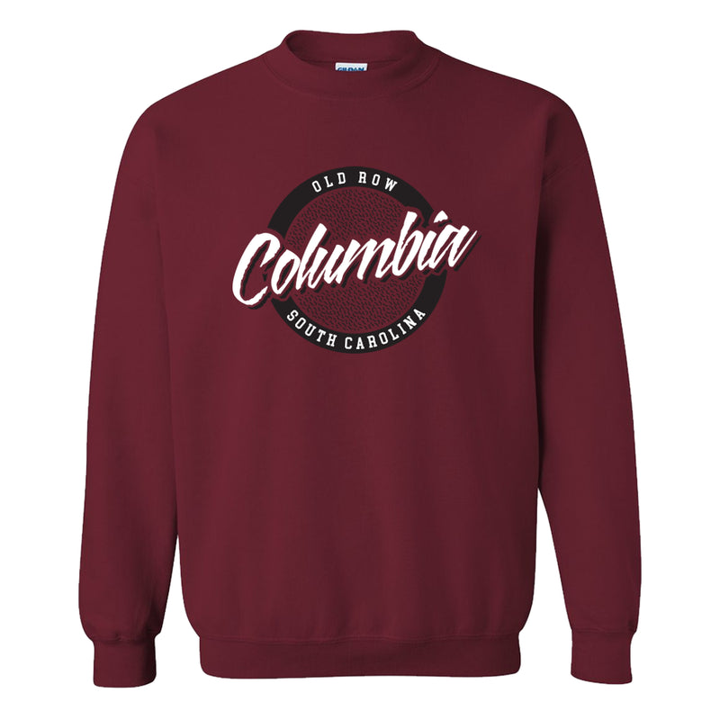 Columbia, South Carolina Circle Logo Crewneck Sweatshirt