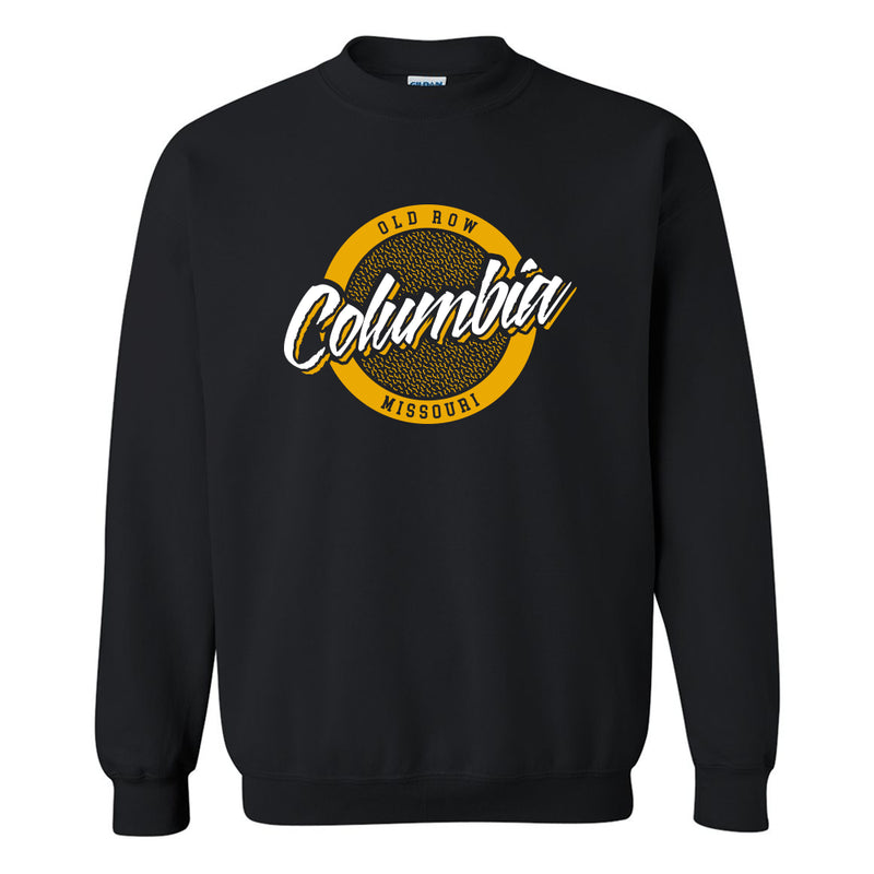 Columbia, Missouri Circle Logo Crewneck Sweatshirt