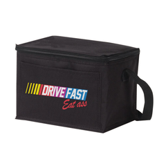 Drive Fast Eat Ass 6 Can Cooler