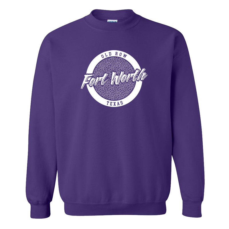 Forth Worth, Texas Circle Logo Crewneck Sweatshirt