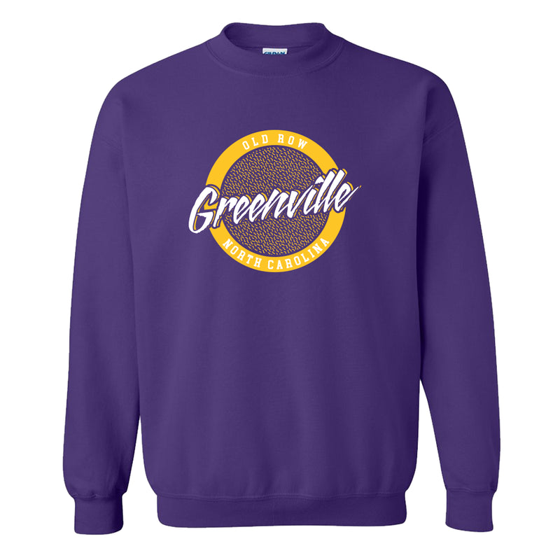Greenville, North Carolina Circle Logo Crewneck Sweatshirt