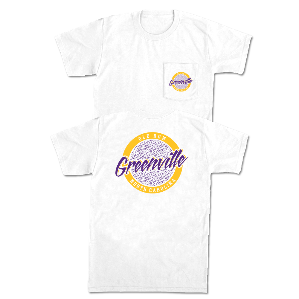 Greenville, North Carolina Circle Logo Pocket Tee