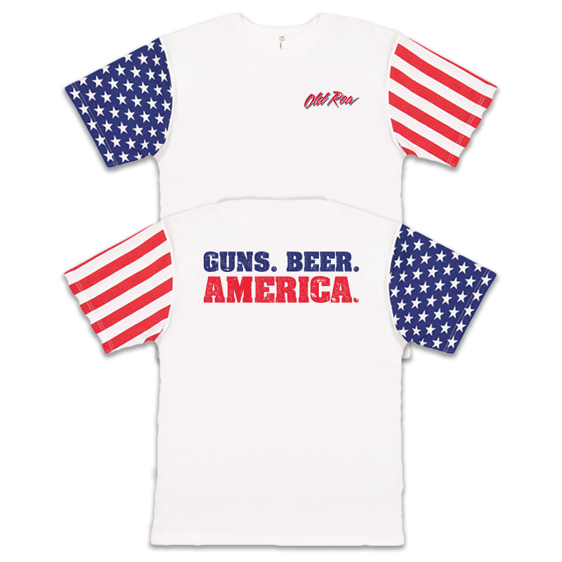 Guns Beer America T-Shirt