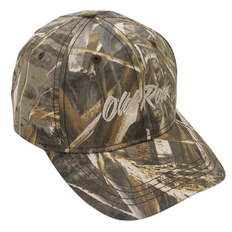 Old Row Max-5 Camo Hat - Structured