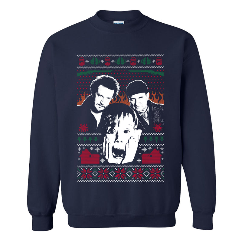 The Wet Bandits Tacky Christmas Sweater