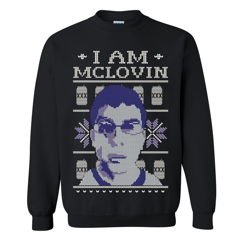 I Am McLovin Tacky Christmas Sweater