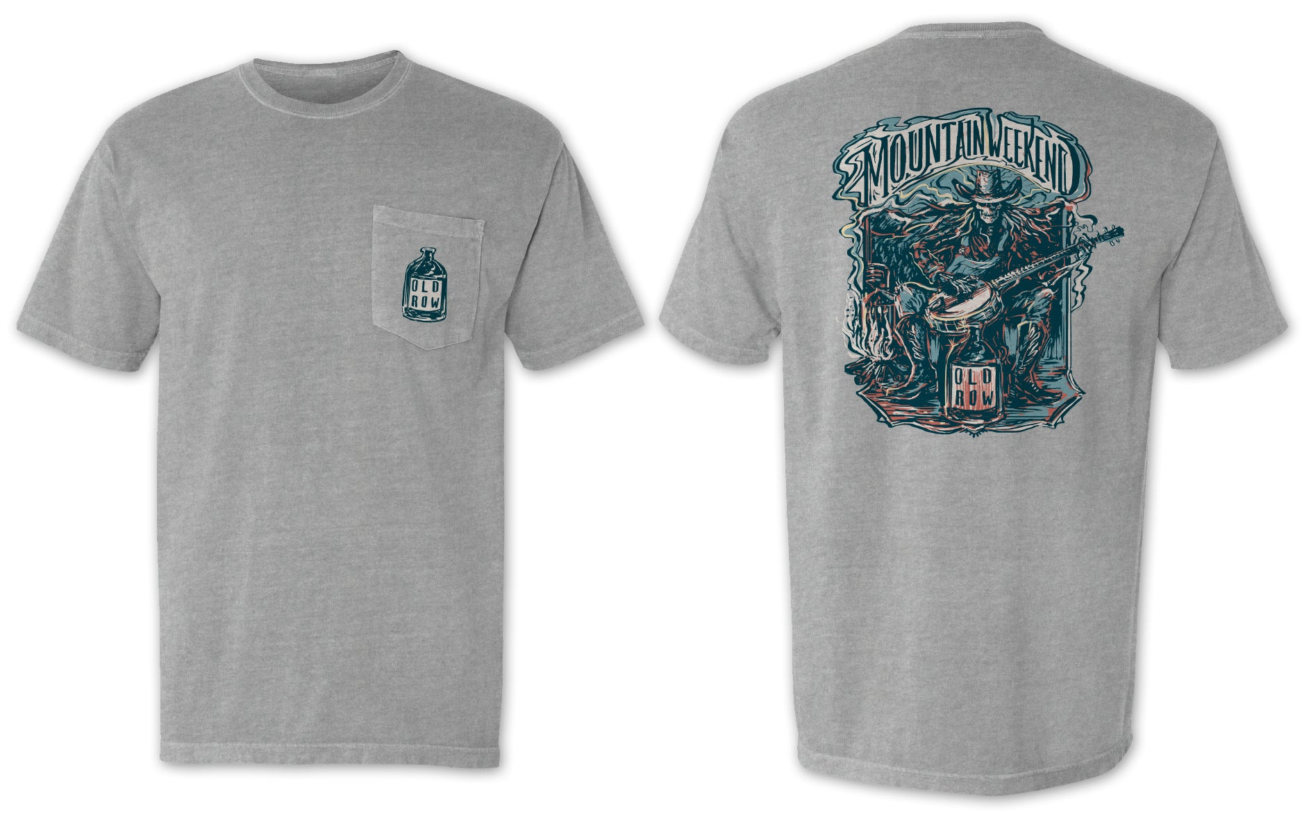 Mountain Weekend V3 Pocket Tee