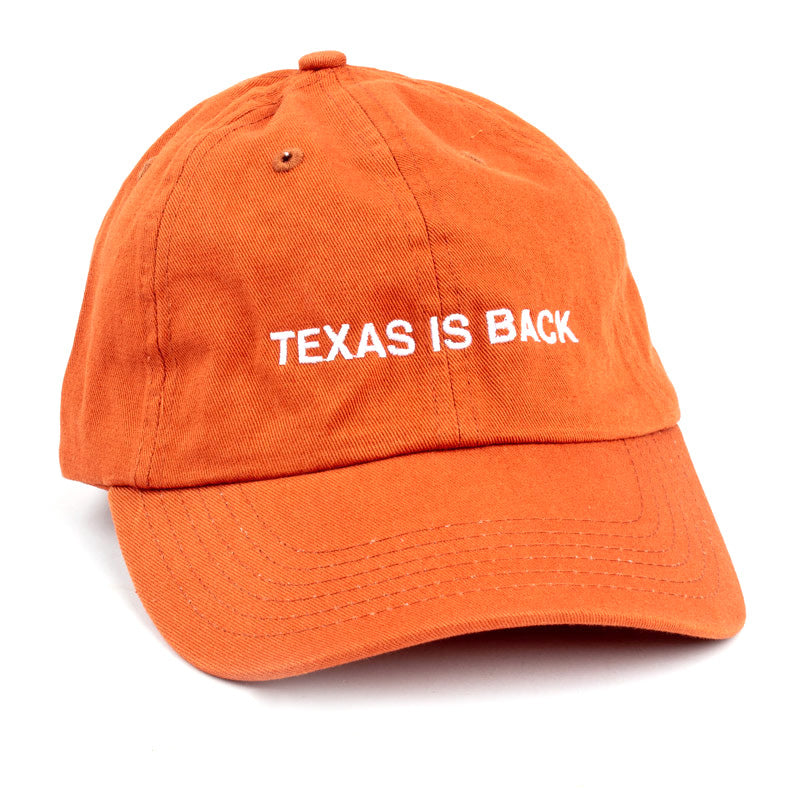 Texas Is Back Dad Hat