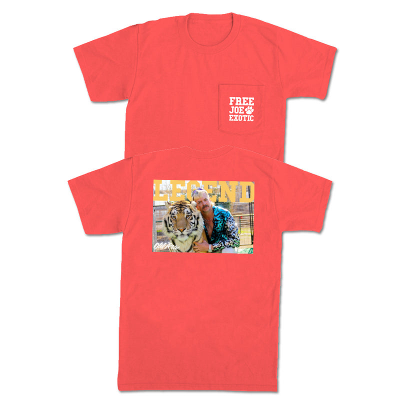 Justice For Joe Pocket Tee Old Row
