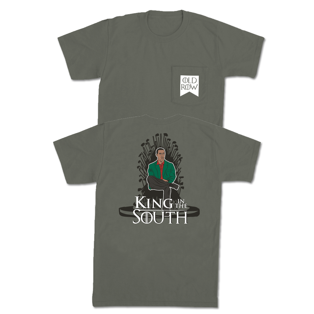 King in the South Pocket Tee