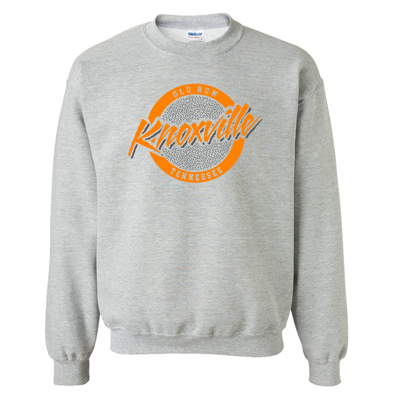 Knoxville, Tennessee Circle Logo Crewneck Sweatshirt
