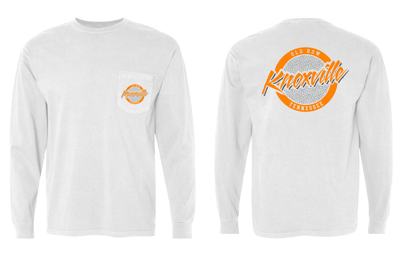 Knoxville, Tennessee Circle Logo Longsleeve Pocket Tee