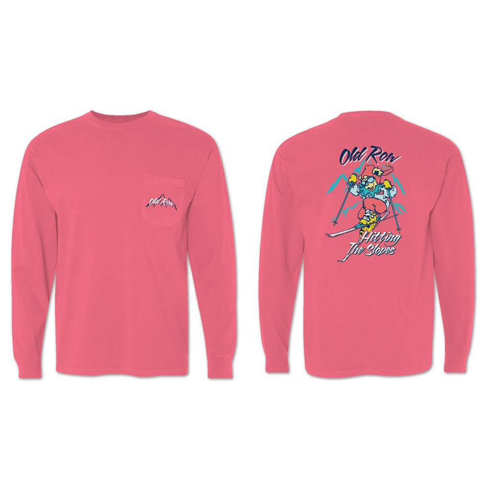 Hitting the Slopes Long Sleeve Pocket Tee