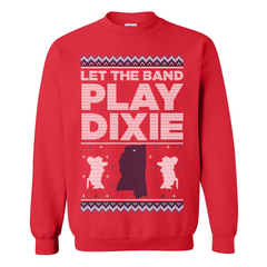 Let The Band Play Dixie Tacky Sweater