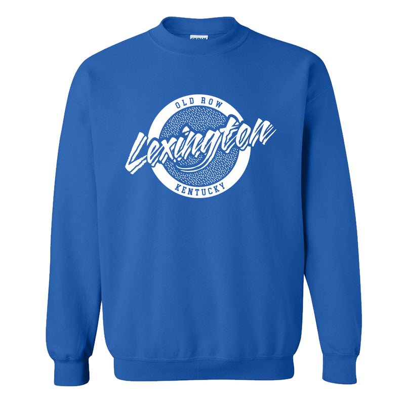 Lexington, Kentucky Circle Logo Crewneck Sweatshirt