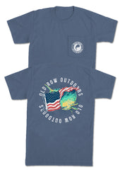 Mahi USA Pocket Tee