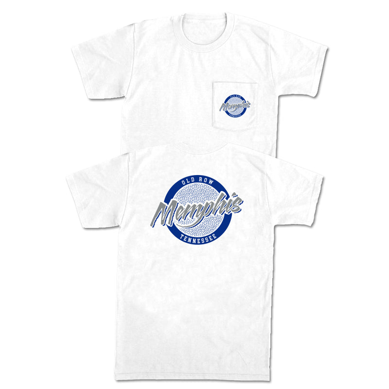 Memphis, Tennessee Circle Logo Pocket Tee