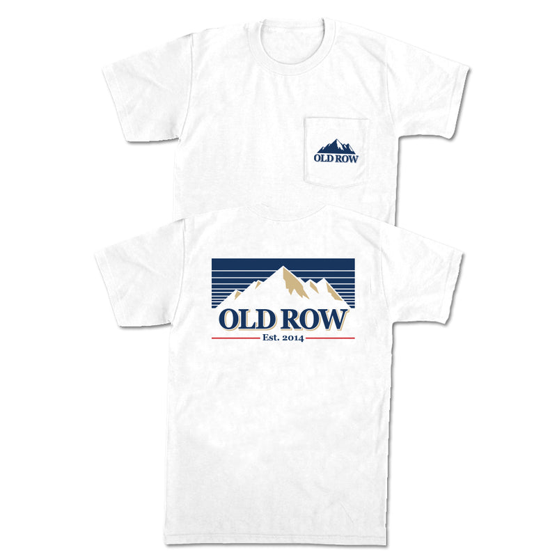 Old Row Mountain Brew Pocket Tee