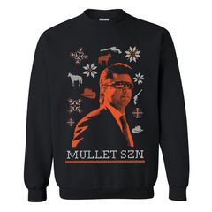 Mullet SZN Tacky Christmas Sweater