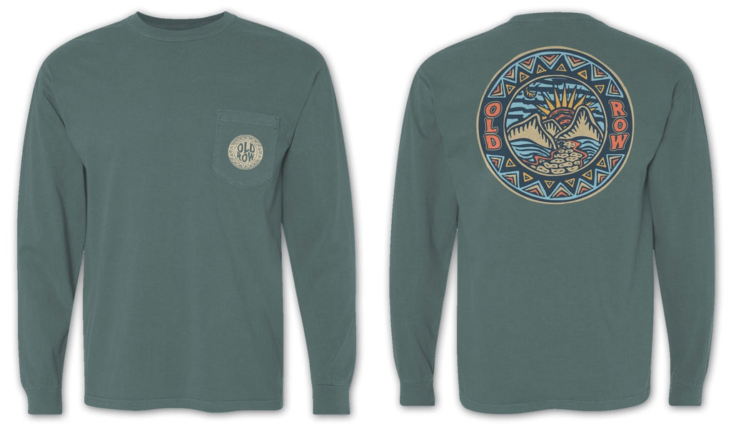 Nature Walk Long Sleeve Pocket Tee