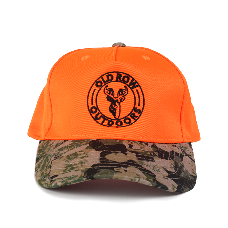 Old Row Outdoors Hunter Orange Buck Hat